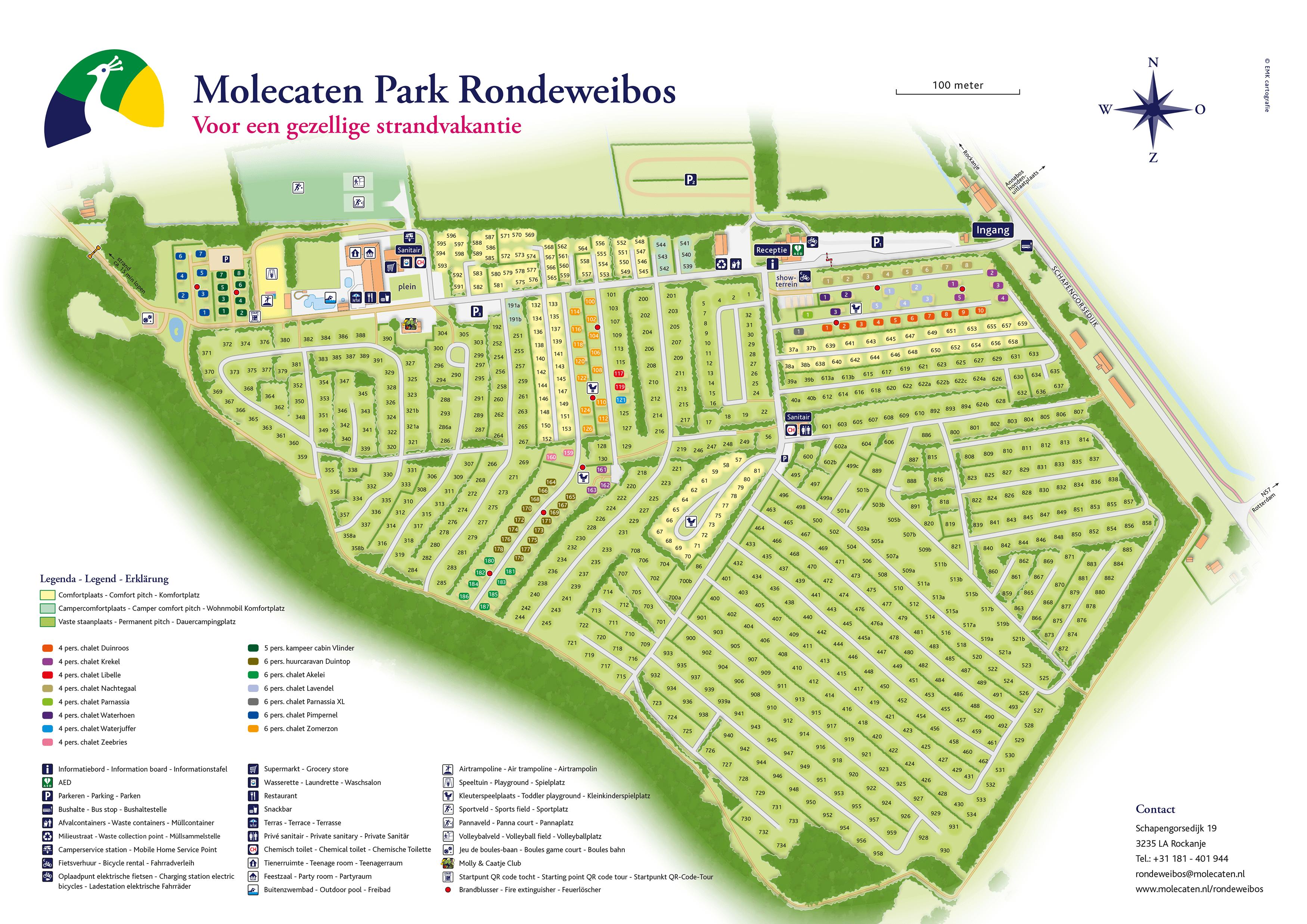 Molecaten Park Rondeweibos accommodation.parkmap.alttext