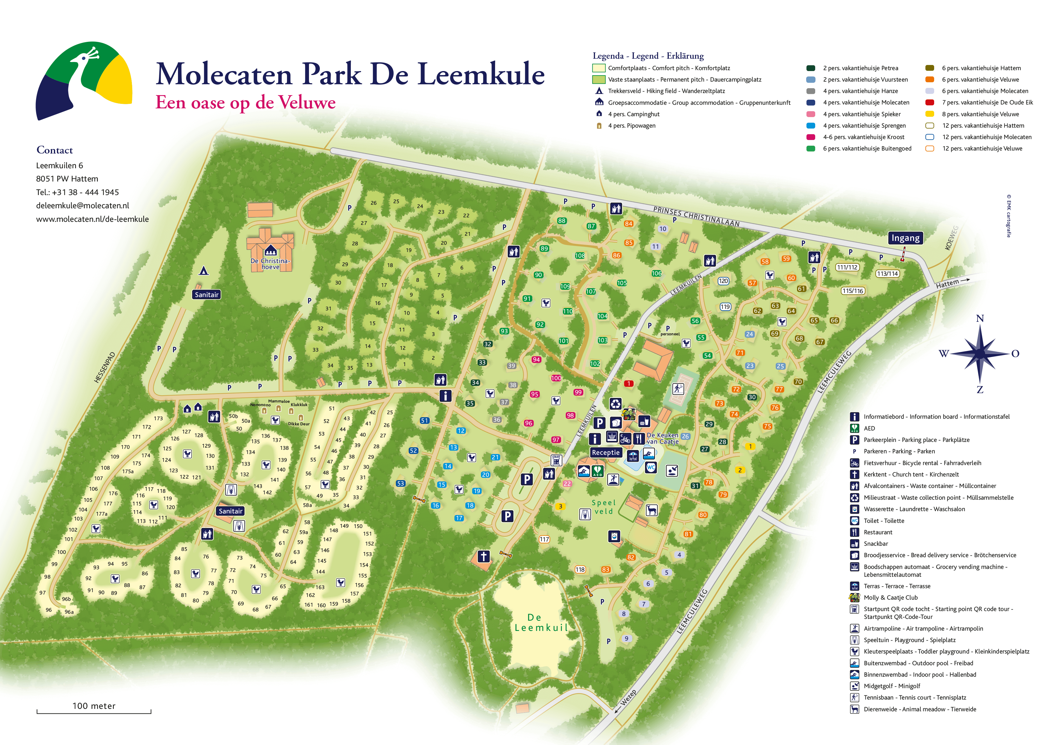 Molecaten Park De Leemkule accommodation.parkmap.alttext