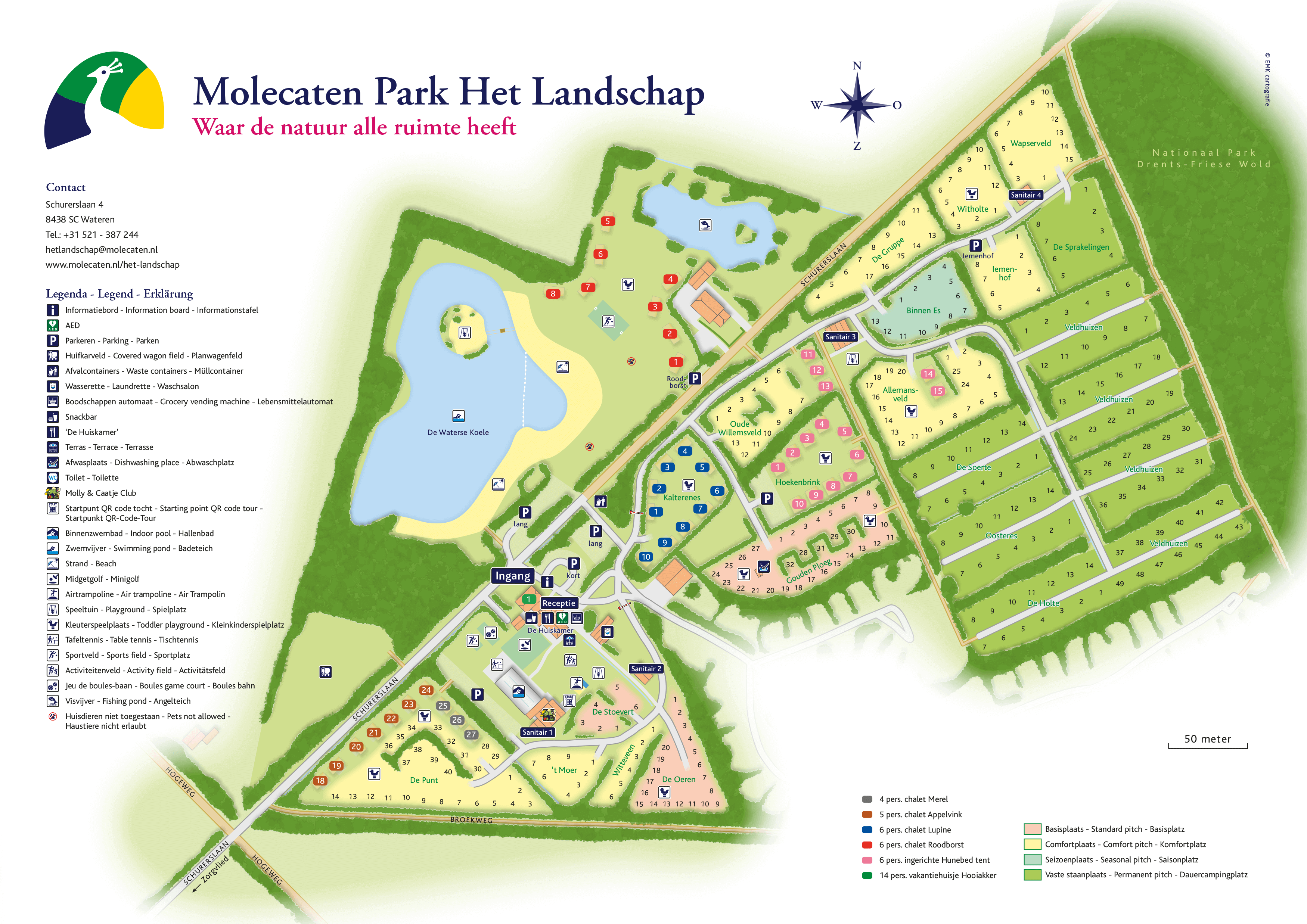 Molecaten Park Het Landschap accommodation.parkmap.alttext