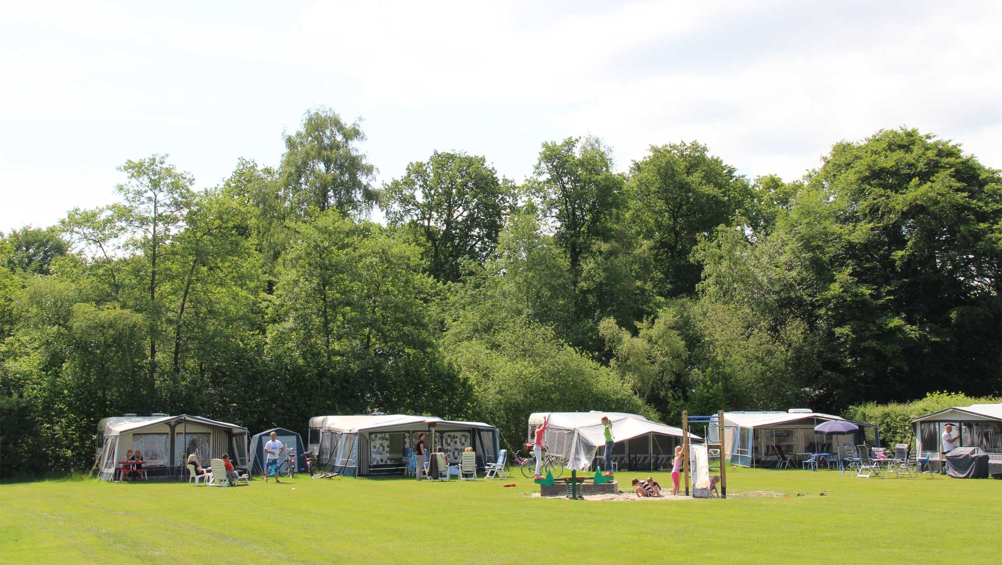 Comfortplaats B kamperen Molecaten Park t Hout 06