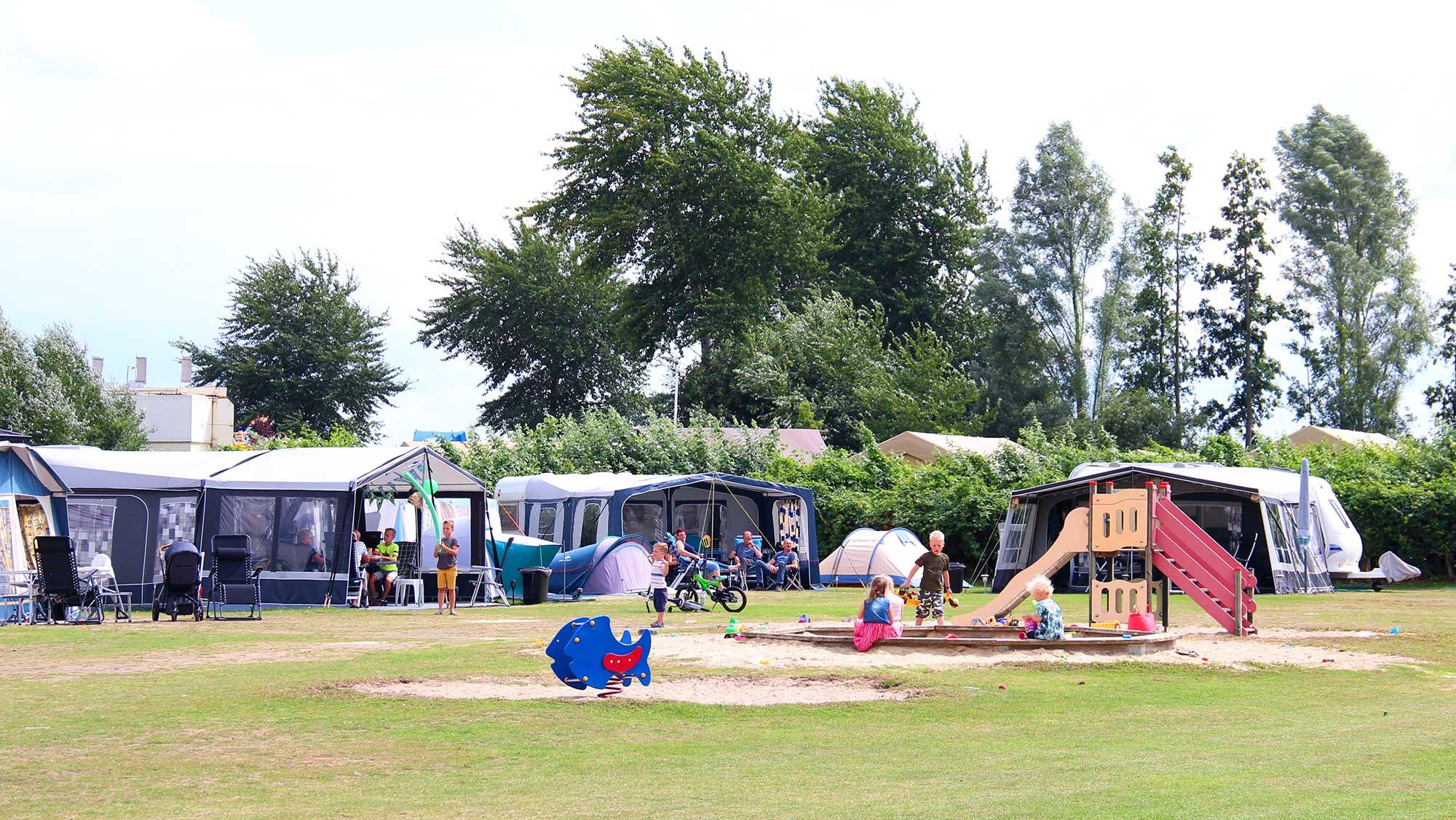 Comfortplaats kamperen huisdierveld Molecaten Park Flevostrand 05