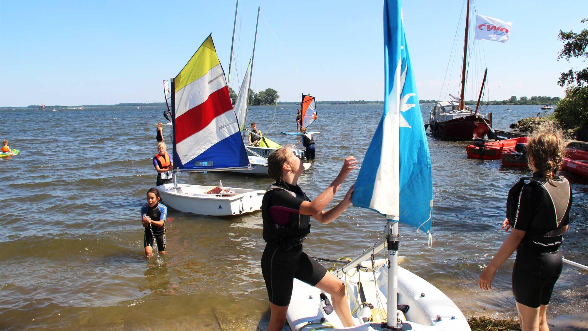 Zeilschool De Randmeren Molecaten Park Flevostrand 05 zeilles Veluwemeer