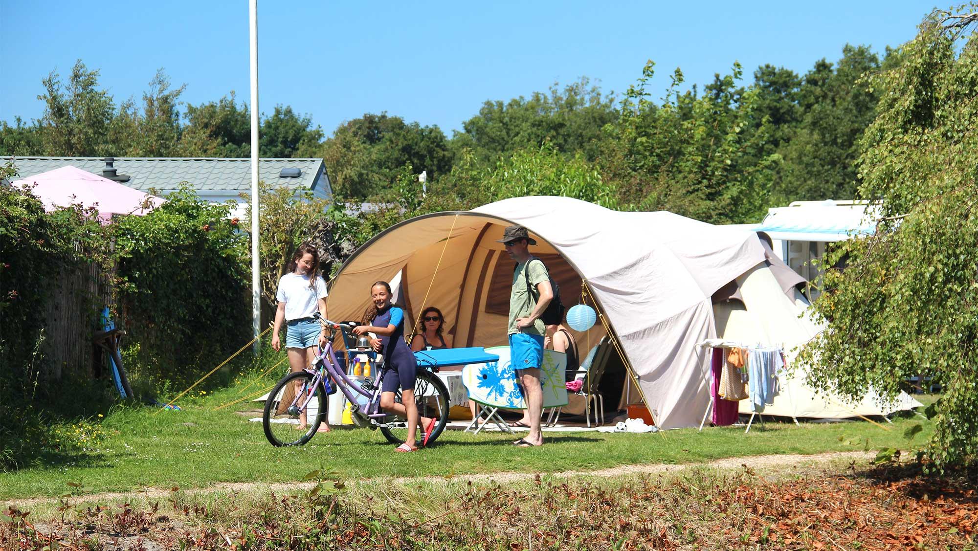 Basisplaats kamperen Molecaten Park Waterbos 01