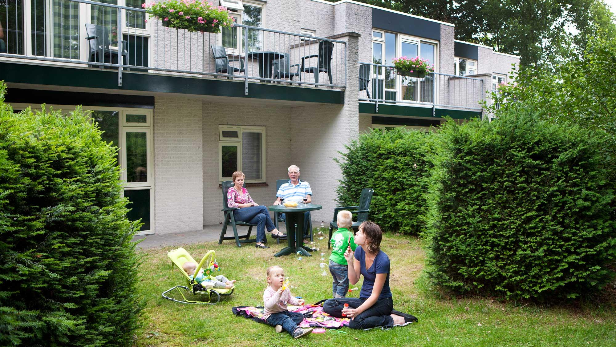 2pers luxe bosappartement Molecaten Park Landgoed Ginkelduin 01