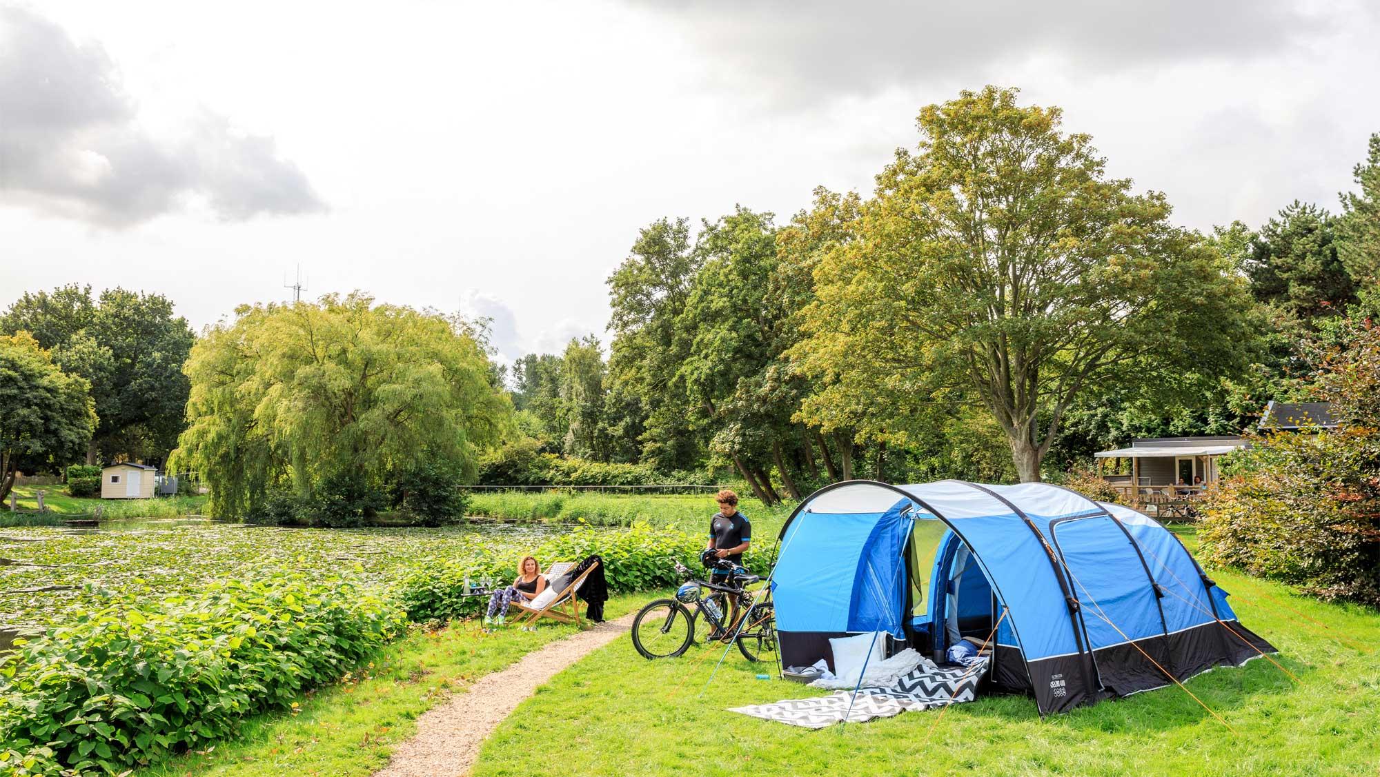 Basisplaats kamperen Molecaten Park Waterbos 04