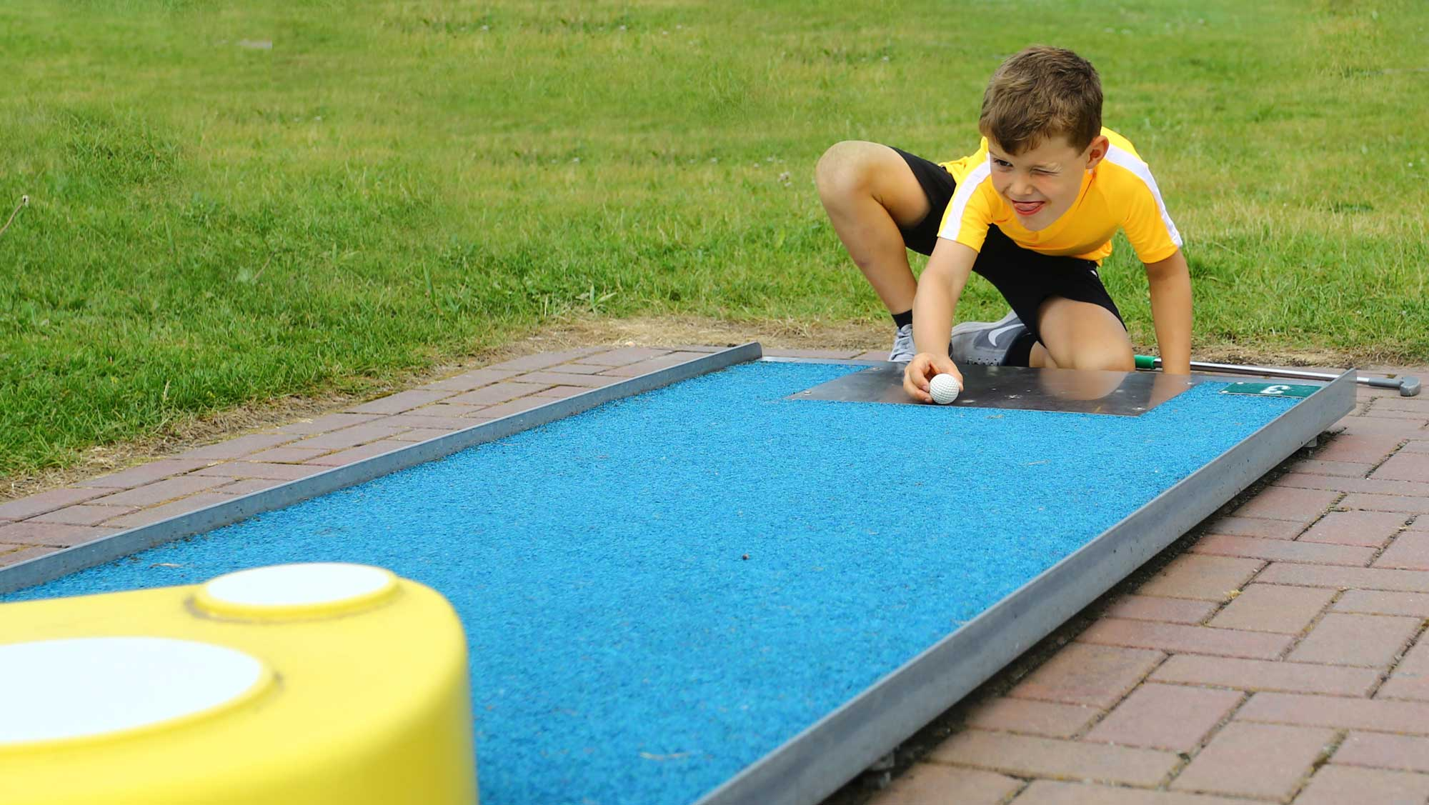 Kinderfeestje op Molecaten Park Flevostrand 07 midgetgolf