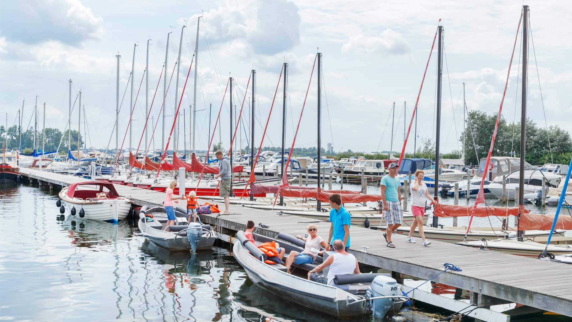Zeilschool De Randmeren Molecaten Park Flevostrand 08 zeilboot verhuur