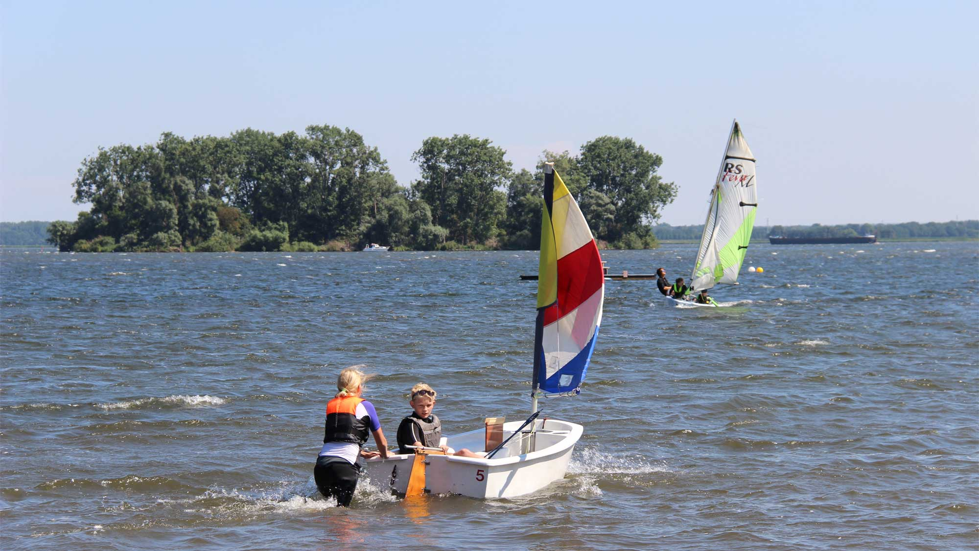 Zeilschool De Randmeren Molecaten Park Flevostrand 06 Optimist