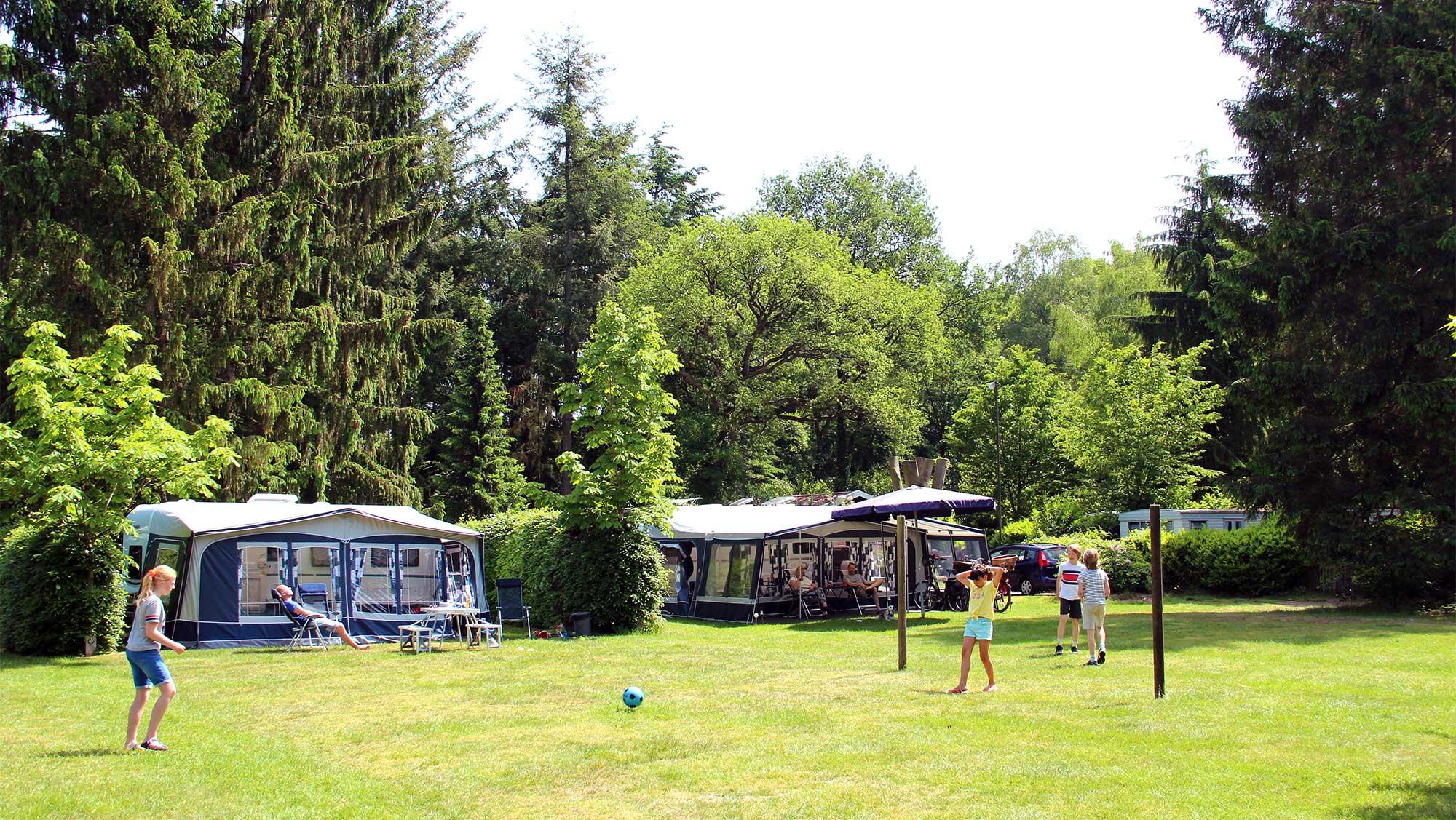 Seizoenplaats kamperen Molecaten Park Landgoed Molecaten