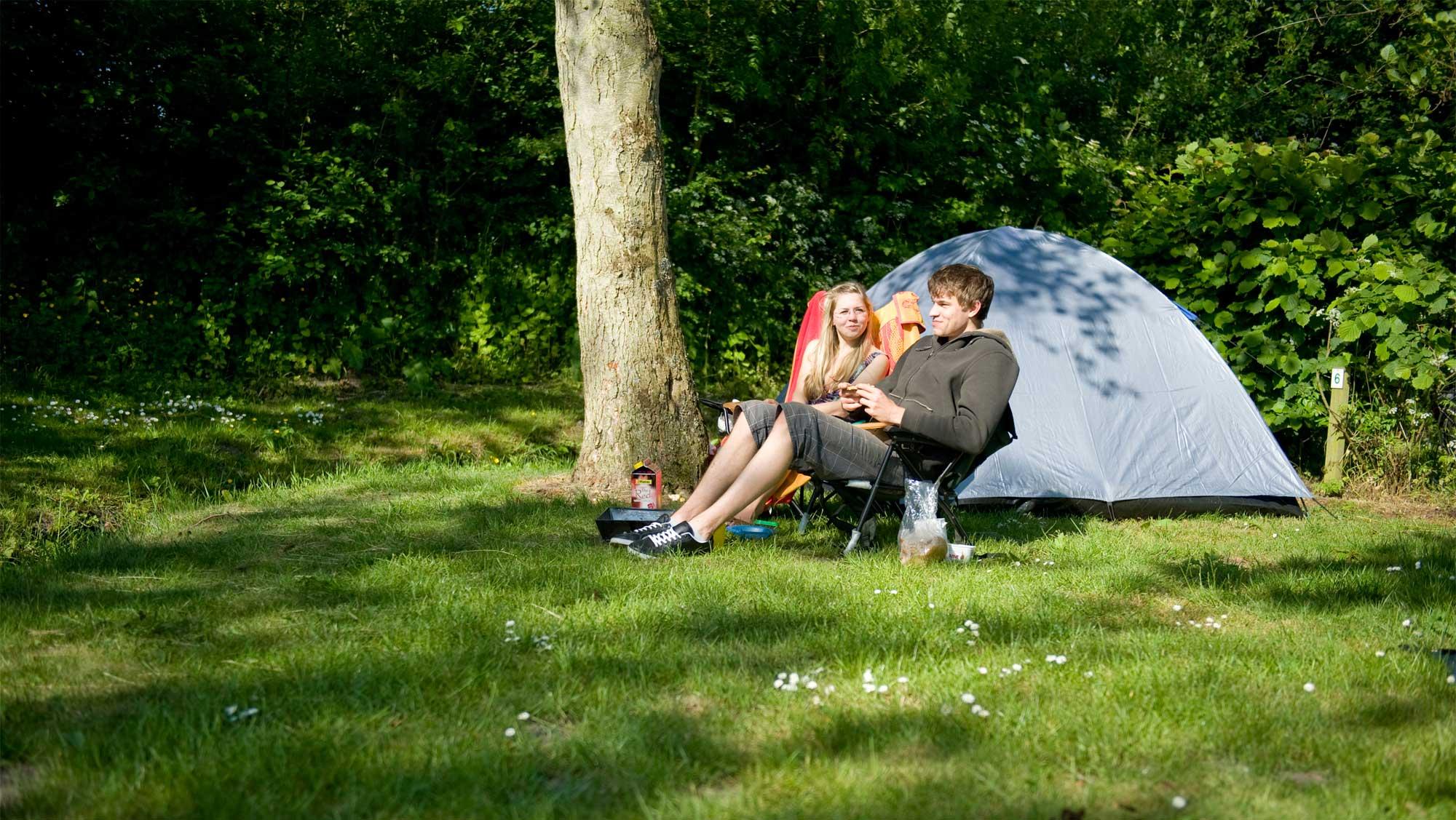 Trekkersplaats kamperen Molecaten Park De Leemkule 01
