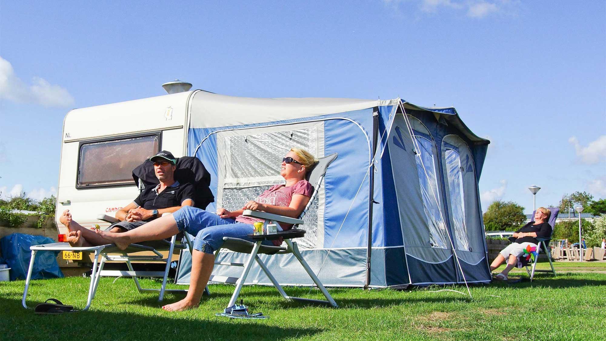 Basisplaats kamperen Molecaten Park Noordduinen 02