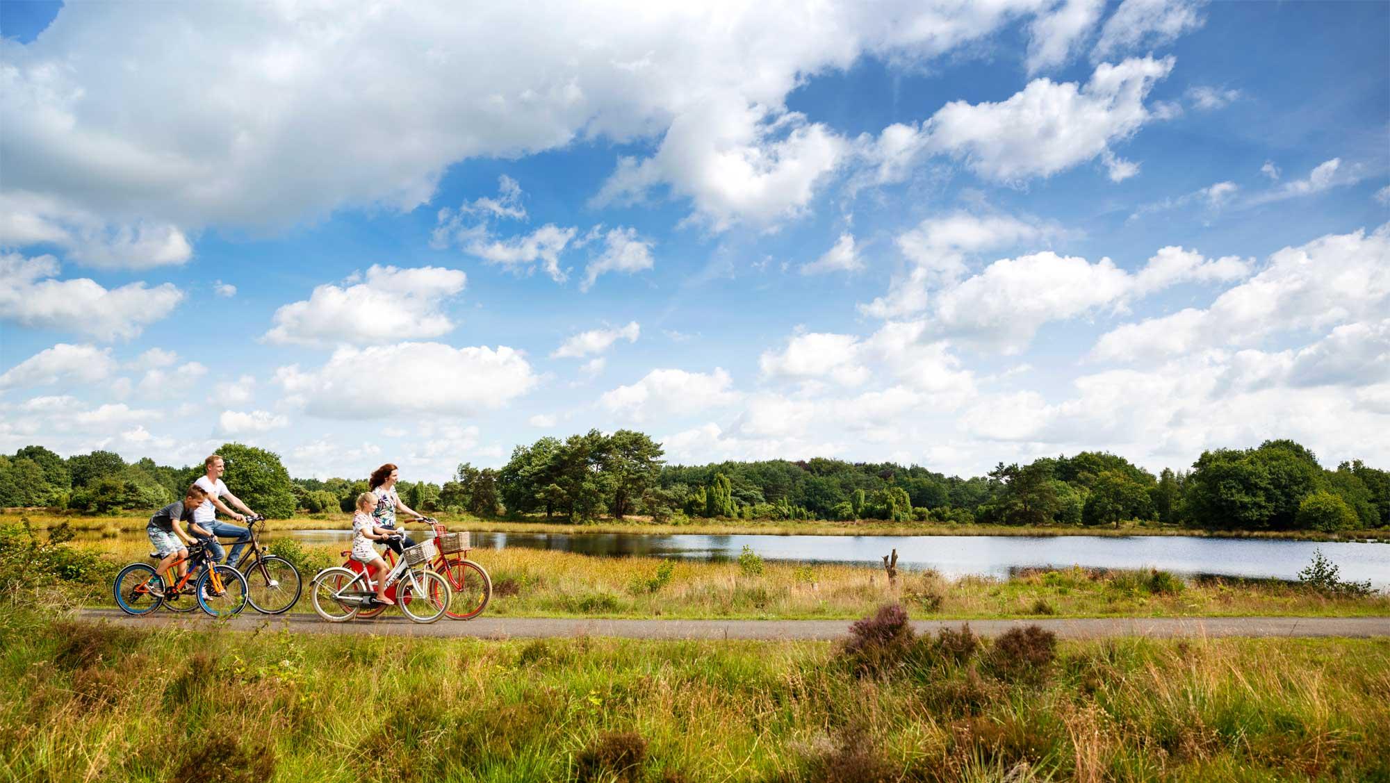 Omgeving Molecaten Park Kuierpad Drenthe 04 fietsen