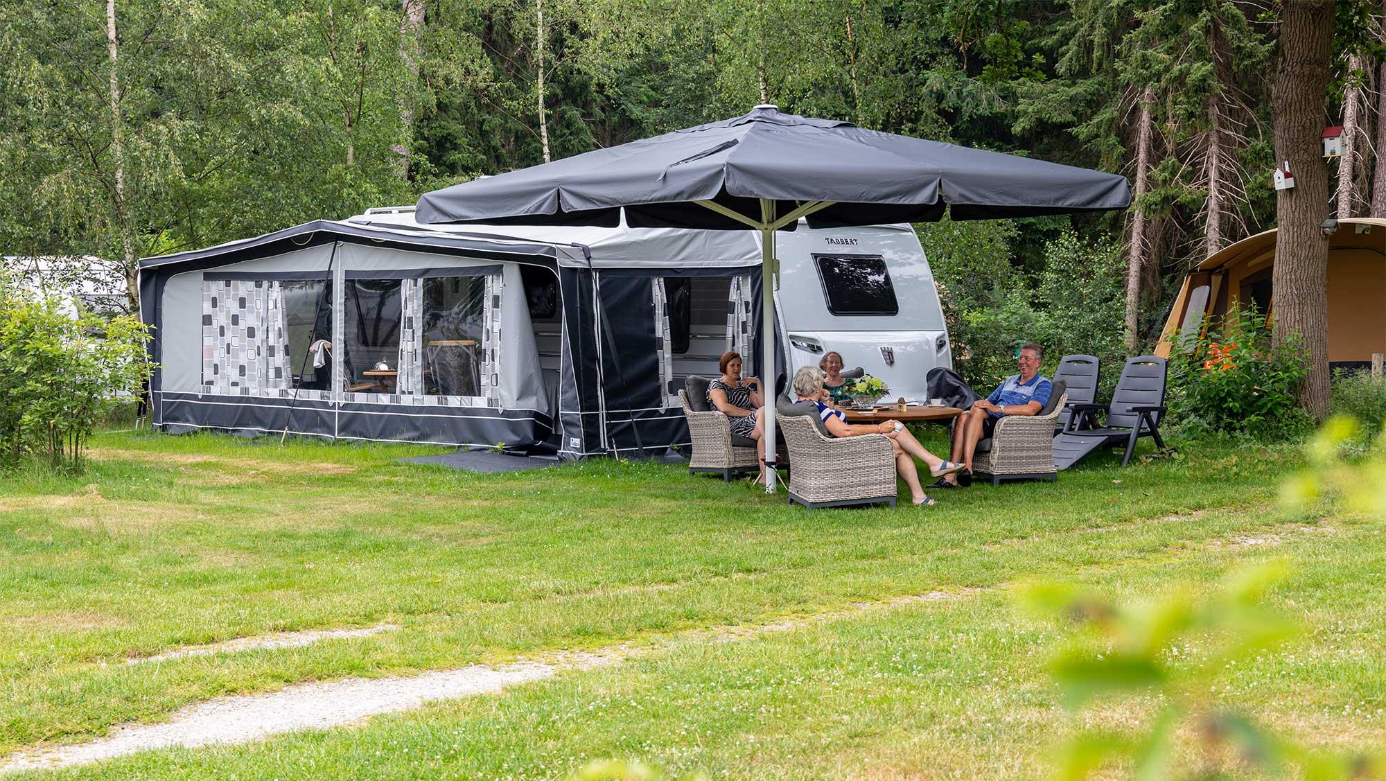Seizoenplaats kamperen Molecaten Park Landgoed Ginkelduin 02