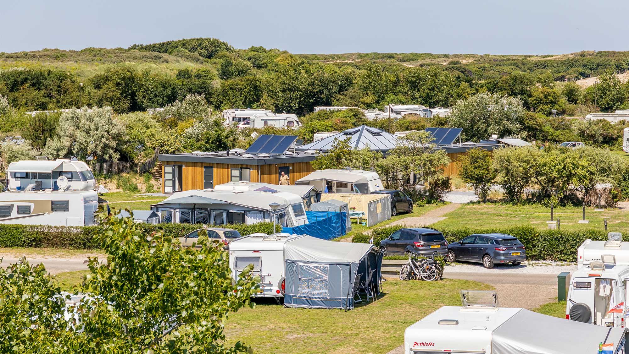 Comfortplaats kamperen Molecaten Park Noordduinen 01