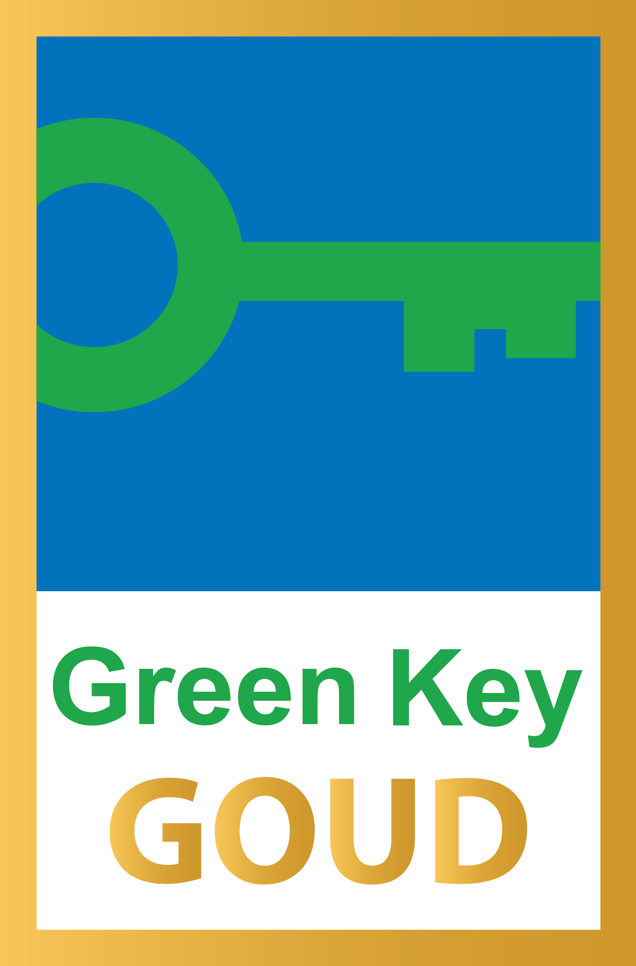 Green Key Goud